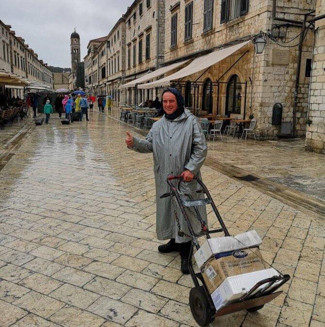 Living in Dubrovnik Old city