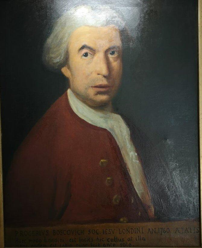 Ruđer Bošković portrait